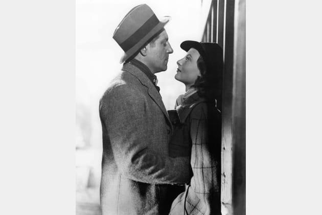 Avec son amant Jean Gabin, dans Quai des Brumes, 1938