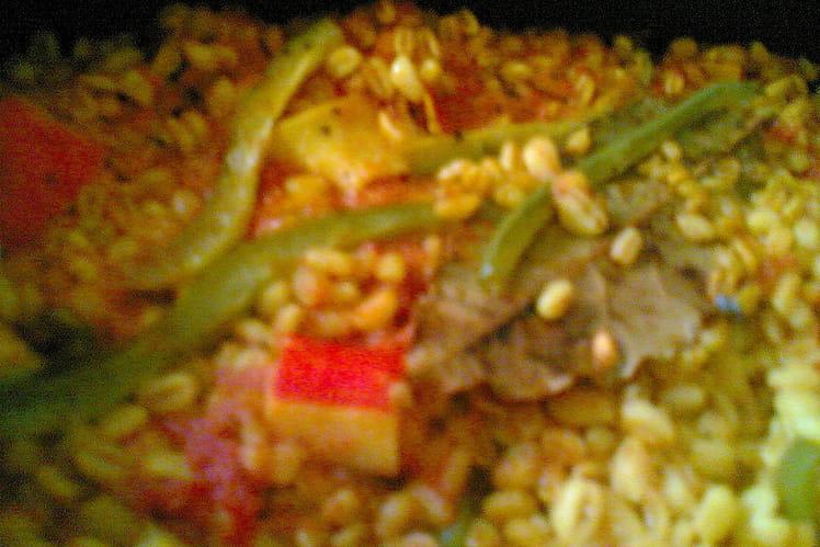 Paella originale au blé