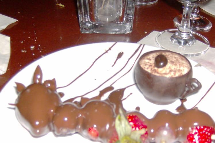 Fondue au chocolat simple et rapide