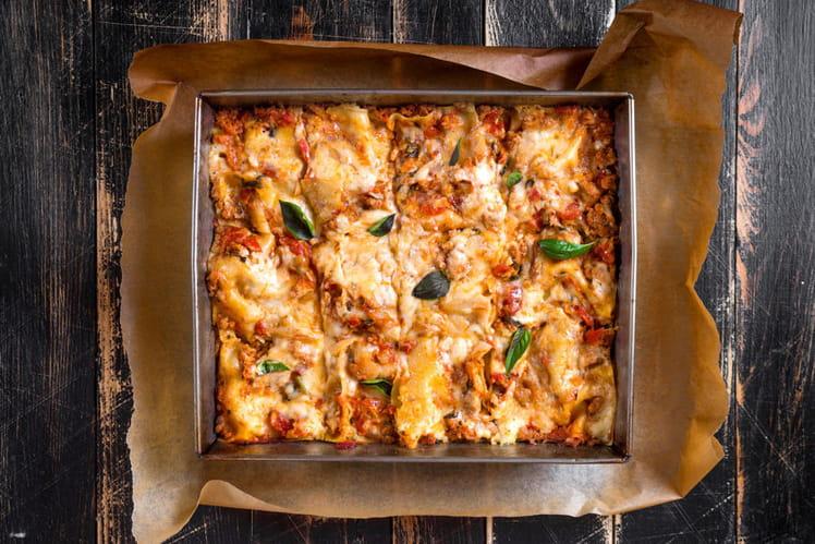 Lasagnes à la bolognaise inratables