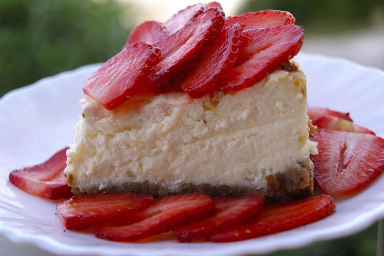 recette de cheesecake aux fraises fromage blanc et mascarpone la recette facile
