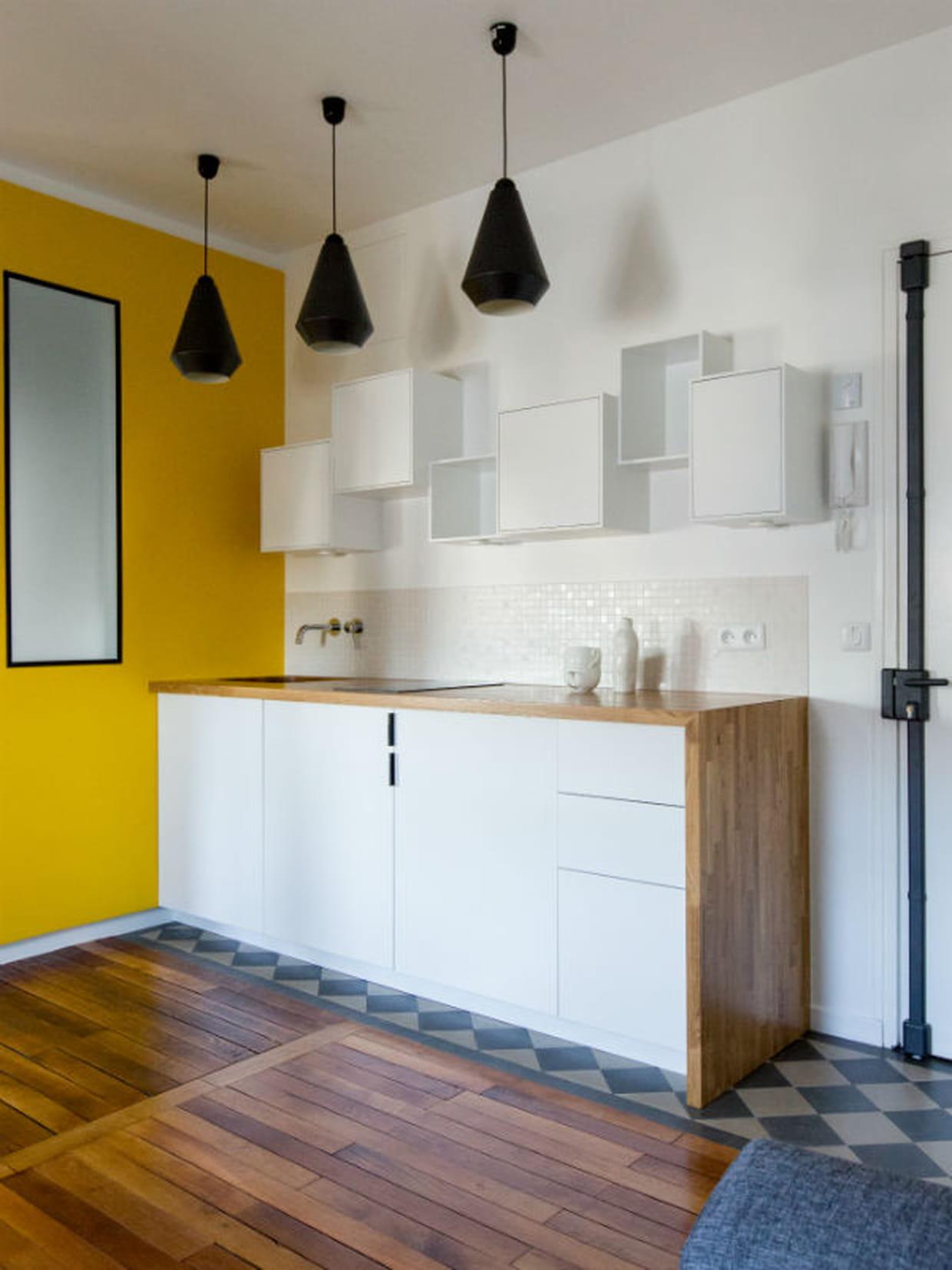 une cuisine revue et corrig e. Black Bedroom Furniture Sets. Home Design Ideas