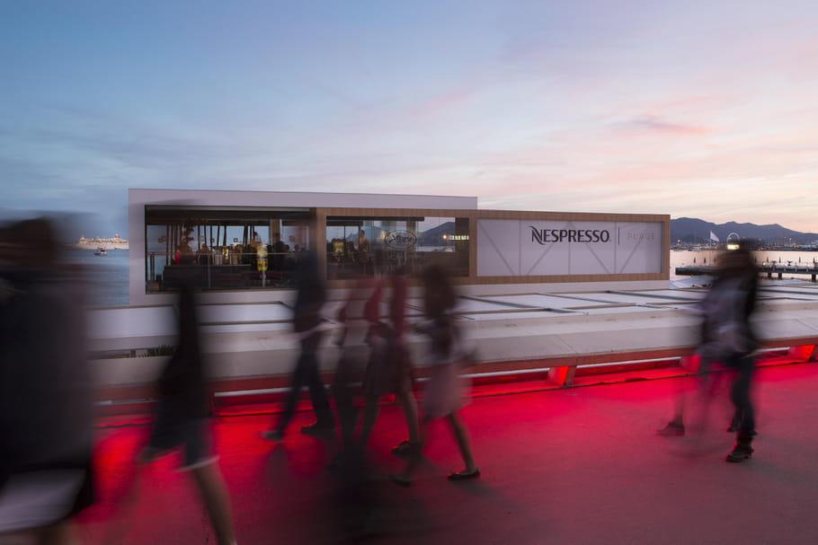 Nespresso fait son cinéma à Cannes