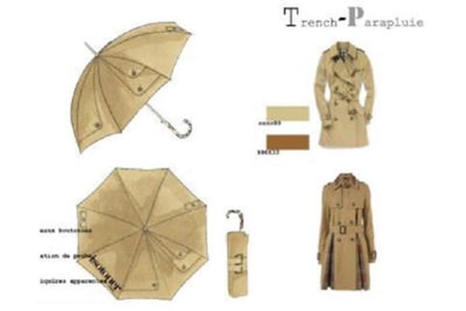 Des parapluie tendance grâce aux élèves d'Esmod