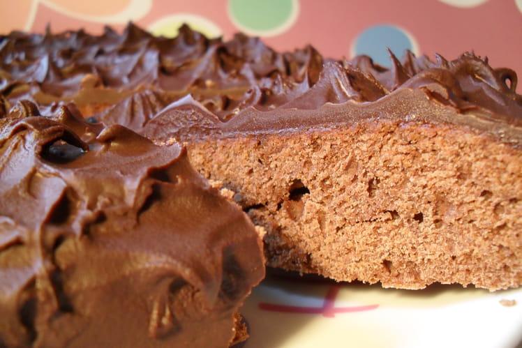 Biscuit fondant amandes et chocolat noir