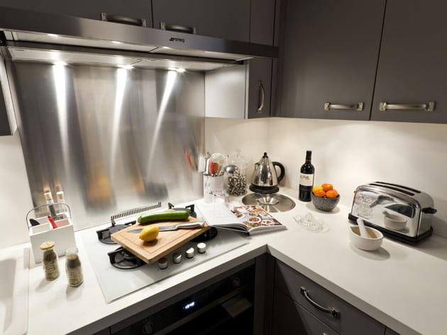 Inox dans la cuisine