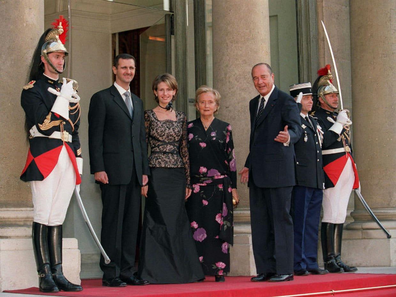 Avec le leader syrien - 80 ans de mariage noce de quoi ...