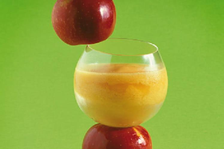 Smoothies aux pommes