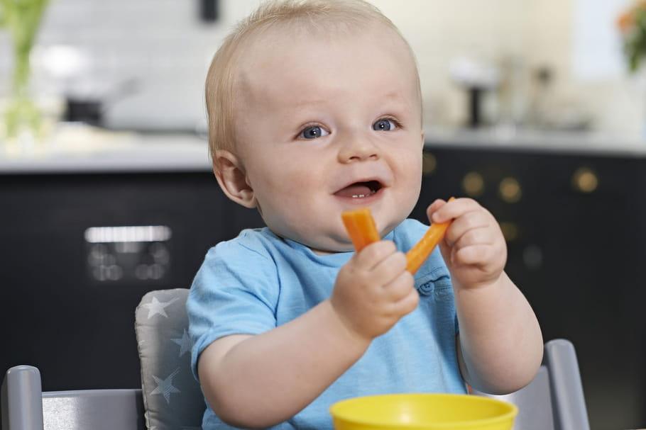 Alimentation du bébé à 8mois