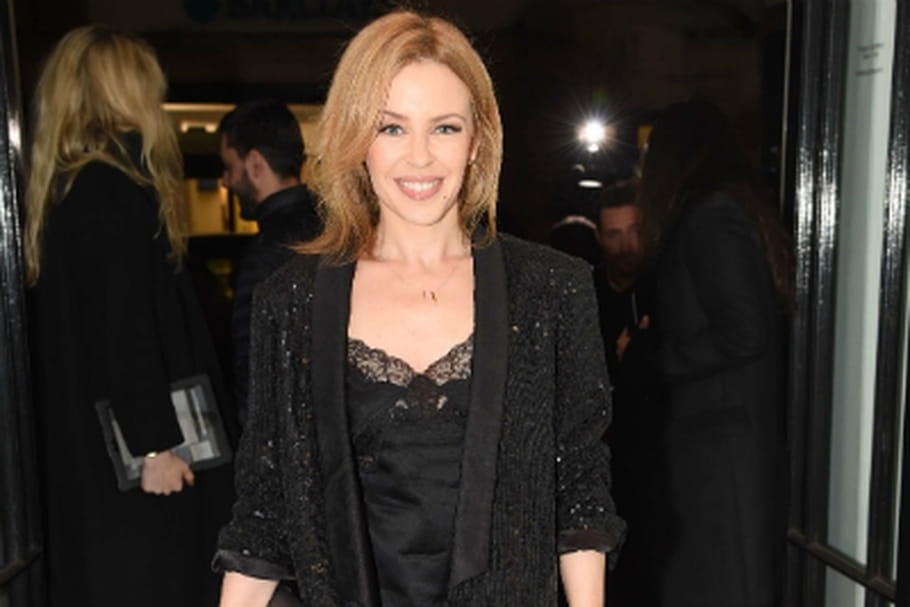 Look du jour : Kylie Minogue