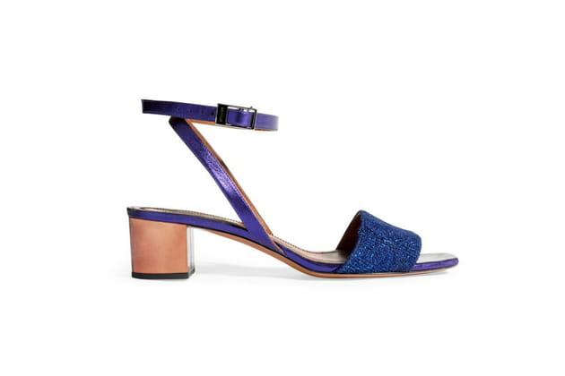 Sandales pailletées de Missoni