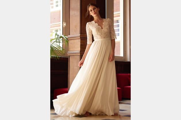 Robe de mariée Spencer, Maison Floret