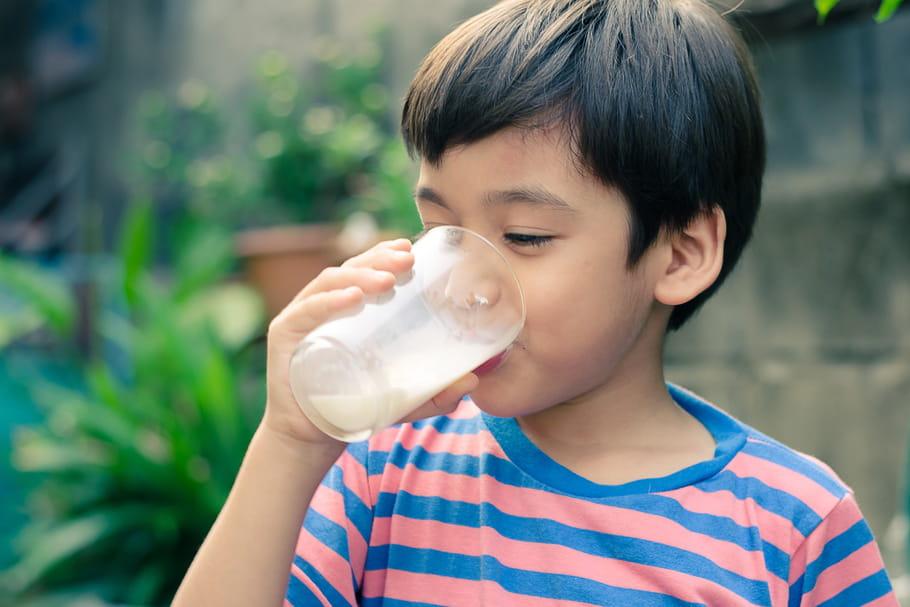 Près d'un enfant sur deux manque de calcium