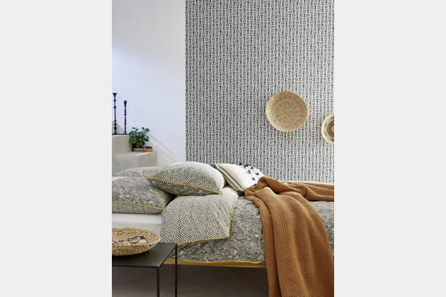 housse de couette d 39 inspiration ethnique de bouchara. Black Bedroom Furniture Sets. Home Design Ideas