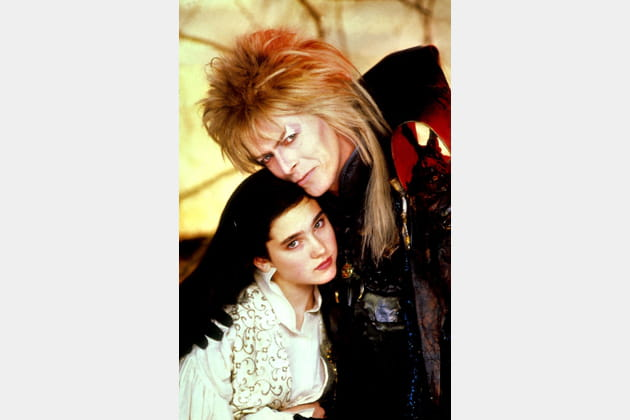 Avec Jennifer Connelly dans Labyrinth, 1986