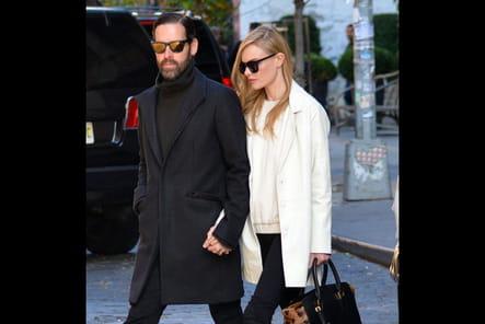 Kate Bosworth et son sac Burberry
