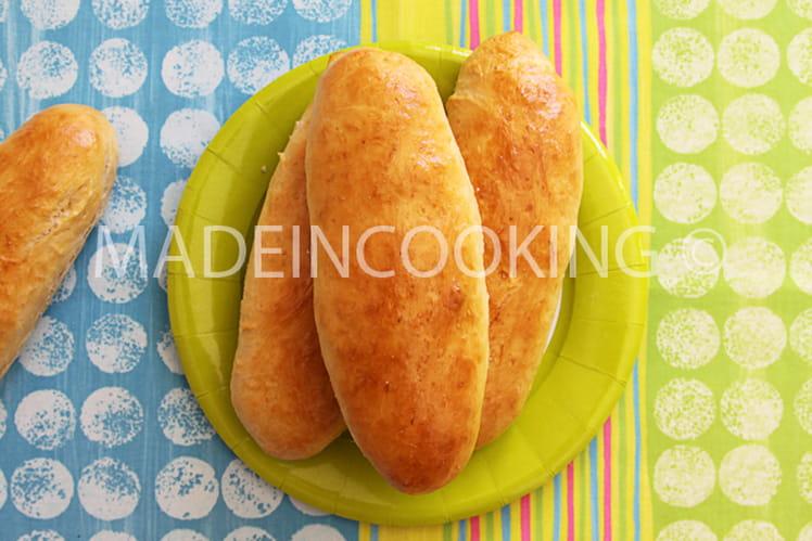 Pains buns pour hot dog