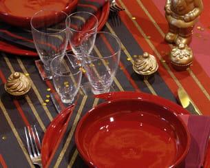 nappe et serviettes de table buzy d'artiga