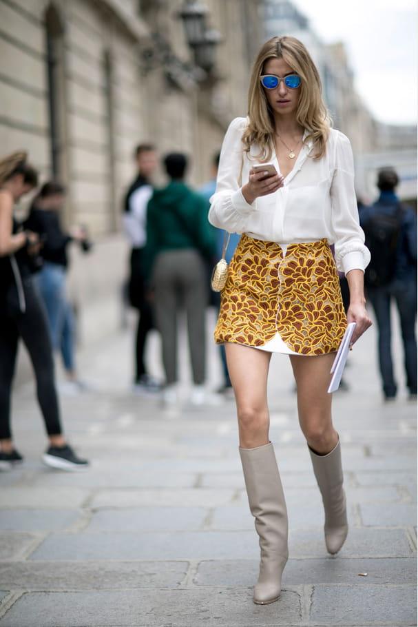Street style à Paris : les broderies audacieuses
