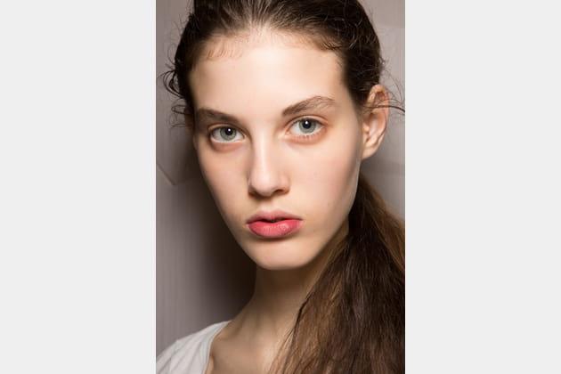 Lèvres en demi-ton