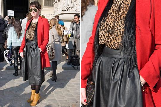 Fashion week : les street looks des défilés parisiens PAP automne-hiver 2011-2012 61