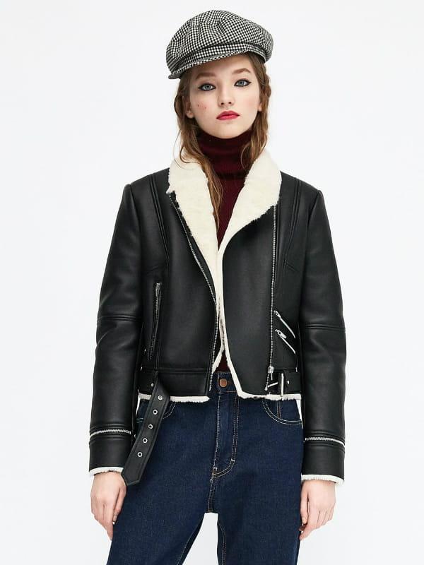 Veste de motard de Zara © Zara
