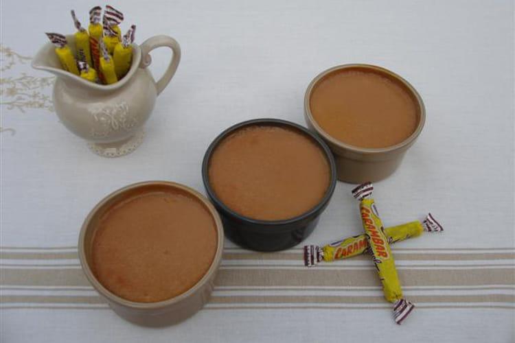Petites crèmes fondantes au bon goût de Carambar