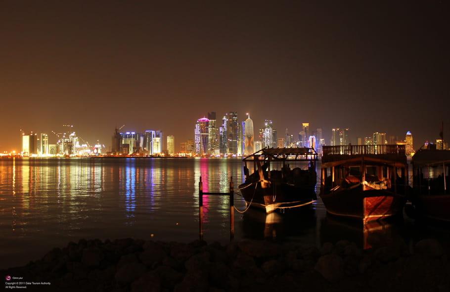 Le charme des nuits à Doha