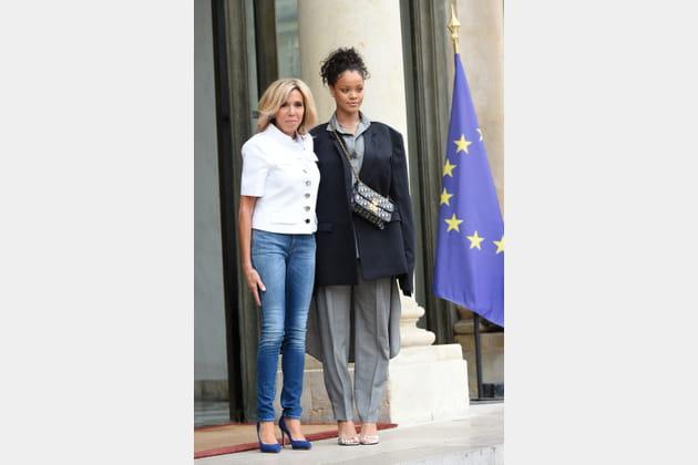 Brigitte Macron le 26juillet 2017