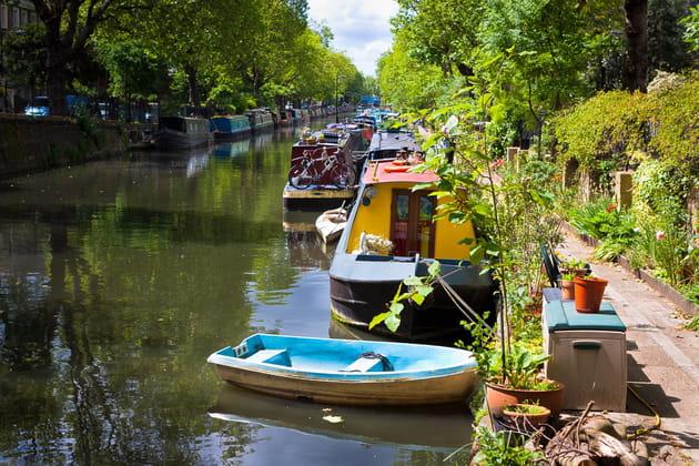 Balade au bord du Regent's Canal