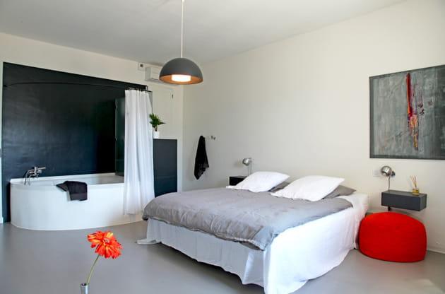 suite parentale design. Black Bedroom Furniture Sets. Home Design Ideas
