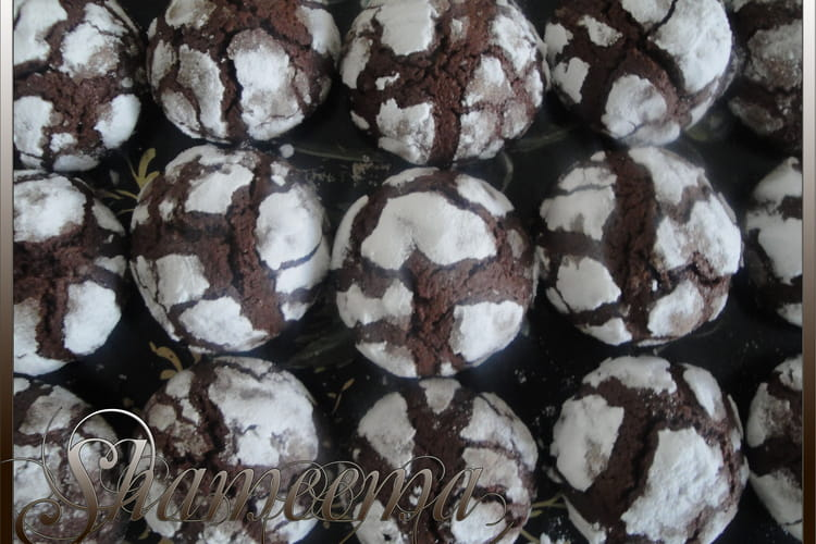 Craquelins au chocolat noir