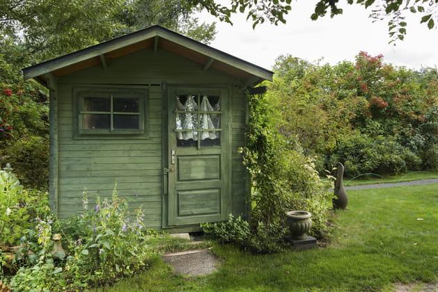 Abri de jardin chez Jardiland