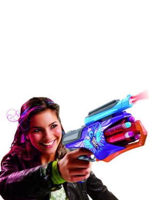 un pistolet d'agent secret !