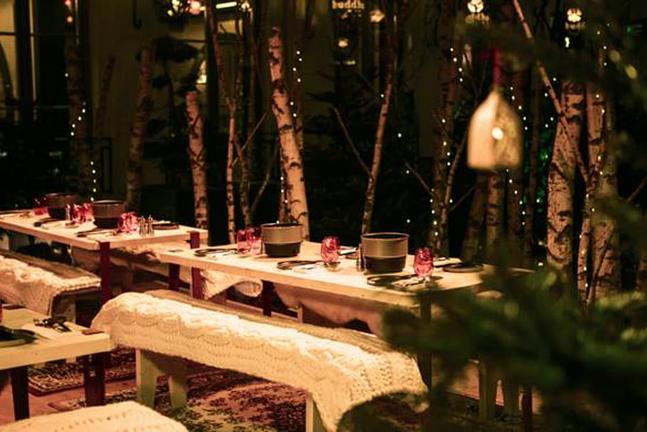 Le Buddha-Bar Hôtel accueille une forêt enchantée pour Noël