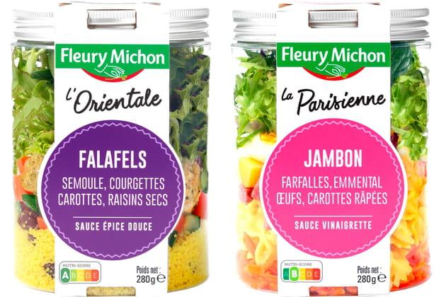 Les nouvelles salades Fleury Michon