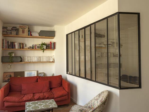 avant apr s un petit appart 39 avec une verri re qui en jette. Black Bedroom Furniture Sets. Home Design Ideas