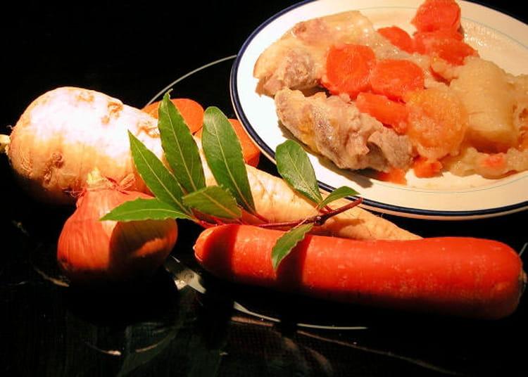 Recette de rouelle de porc aux panais la recette facile - Cuisiner rouelle de porc ...