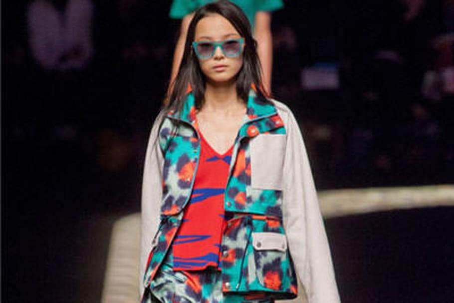 Fashion week: défilé dans une jungle urbaine chez Kenzo