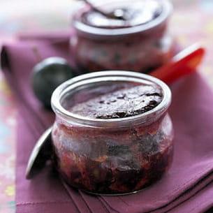 plum pudding aux noix