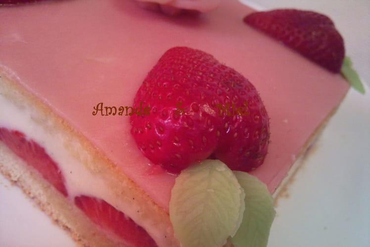 Mon premier fraisier