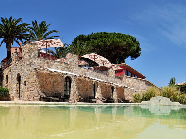 La piscine de La Signoria : le must pour se rafraîchir