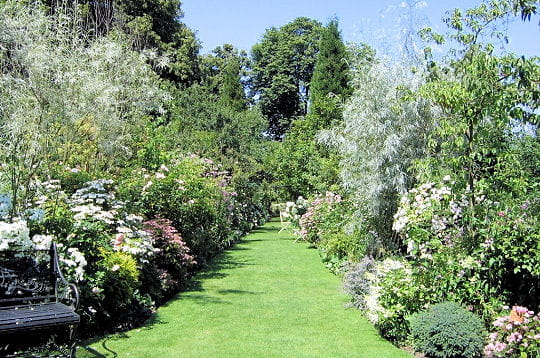 Jardin à l'anglaise en Normandie