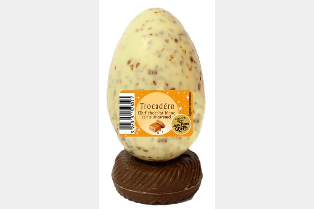 Oeuf au chocolat blanc de Leader Price