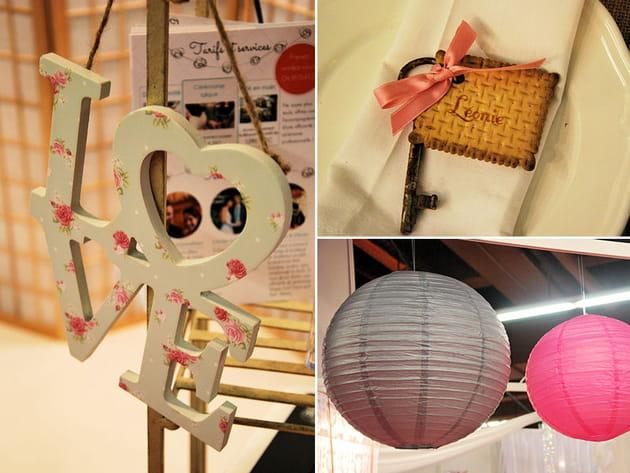 10 idées déco vues au Salon du Mariage et du pacs