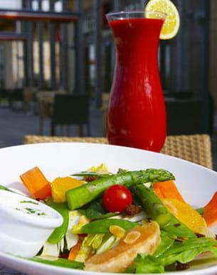 menu '5 fruits, 5 légumes' au paradis du fruit