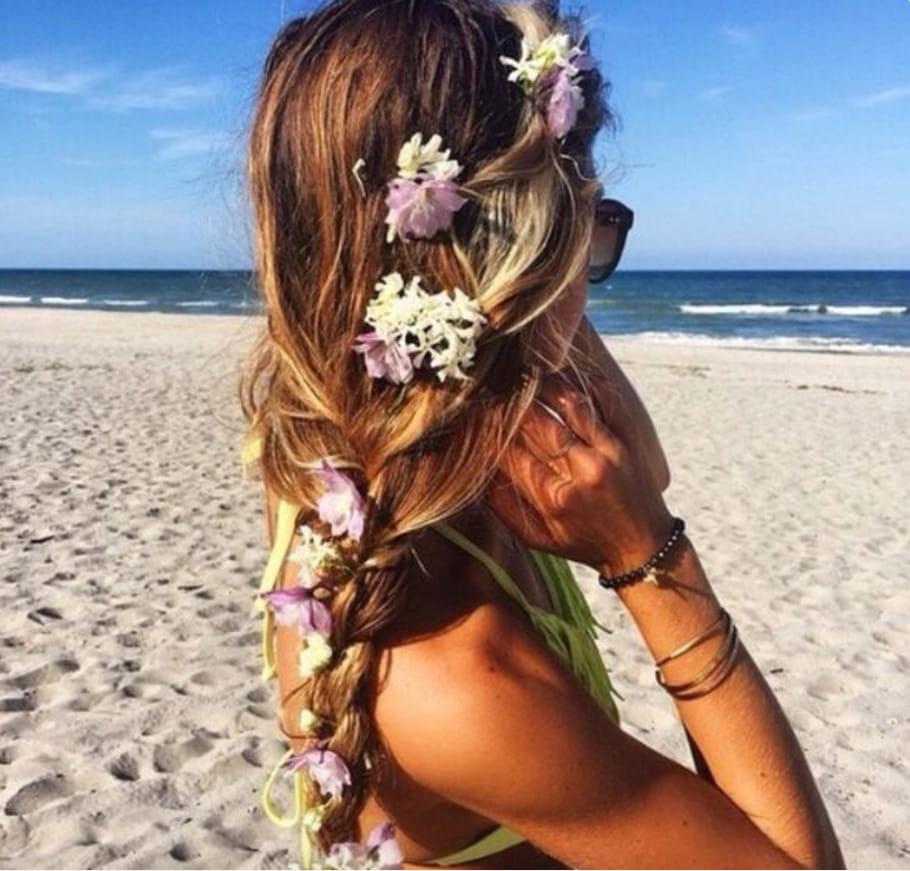 Les coiffures de plage