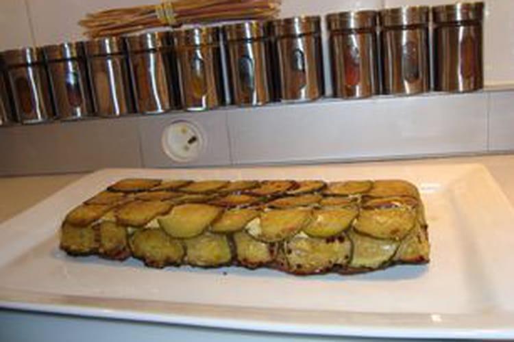 Gâteau de courgettes au basilic