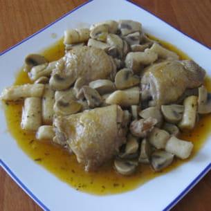 poulet mijoté de ma grand-mère