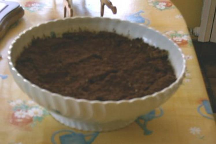 Tiramisu maison au cacao en poudre et Nutella